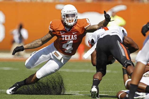 Texas Football: Analyzing Longhorns' Top 2013 NFL Draft Prospects