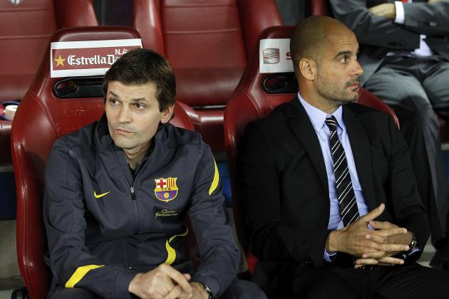 FC Barcelona: Vilanova's Side Not Yet Living Up to Guardiola Team's Quality