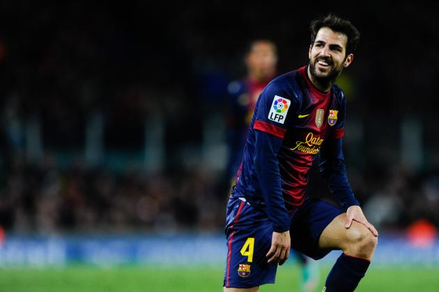 Fabregas Recovery Nearly Complete