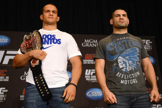 UFC 155 Fight Card: Junior Dos Santos Will Retain Title vs Cain Velasquez