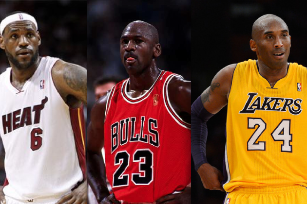 Breaking Down Real Difference Between Kobe Bryant, LeBron James, Michael Jordan