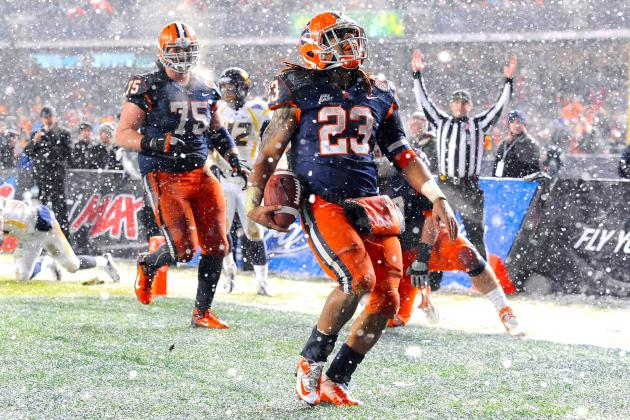 Pinstripe Bowl 2012: West Virginia vs Syracuse Live Scores, Analysis and Results