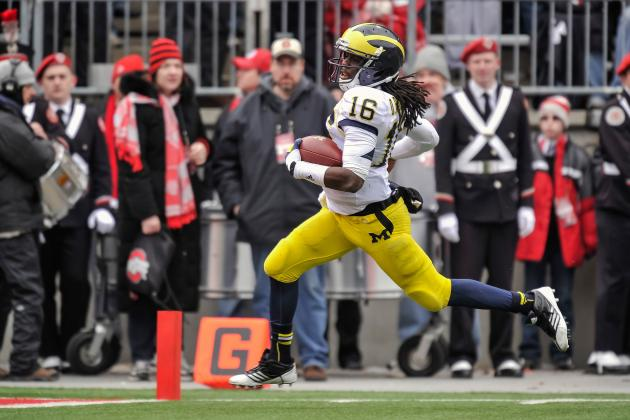 Michigan Football: Outback Bowl Is Sad Finish to Denard Robinson's Career