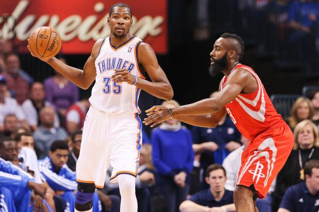 Oklahoma City Thunder vs. Houston Rockets: Live Score, Results, Game Highlights