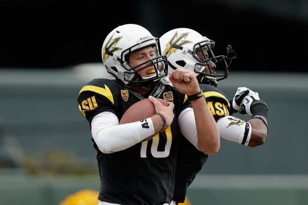 Kraft Fight Hunger Bowl: ASU Dominates Navy