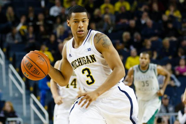Burke, No. 2 Michigan Knock off Central Michigan