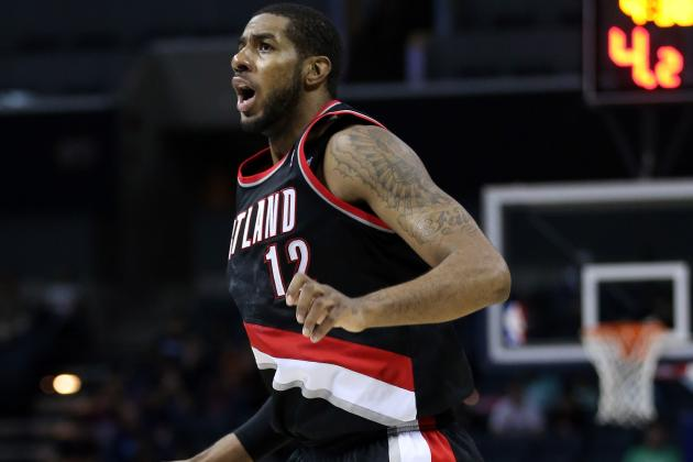 LaMarcus Aldridge Will Play Tonight Despite Chest Bruise