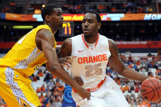 Syracuse Plows Past Alcorn State, Ups Home Streak