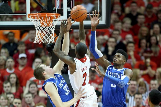 Russ Smith's Reckless Approach Buoys Louisville in Narrow Win
