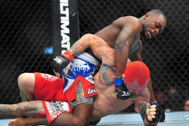 UFC 155: What We Learned from Derek Brunson vs. Chris Leben
