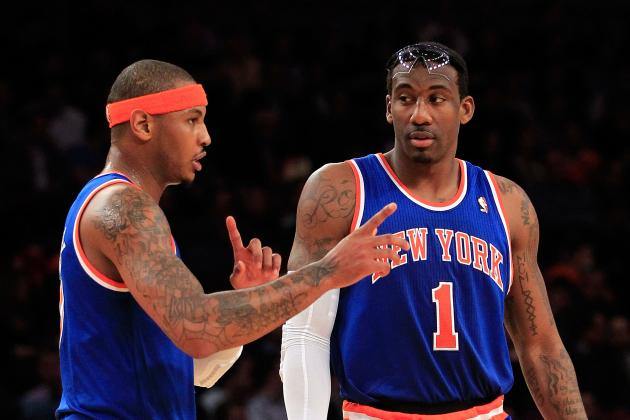 Anthony Adamant He and Amar'e Stoudemire Can Win Together