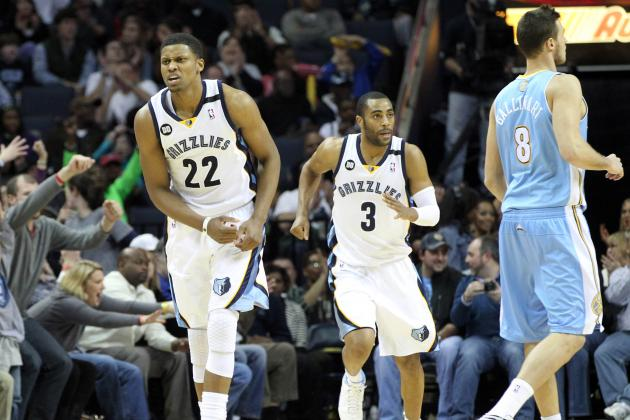 Grizzlies Surge in Fourth Quarter to Knock off Denver Nuggets 81-72