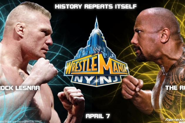 WWE WrestleMania 29: Who Will Brock Lesnar Fight This Coming April?