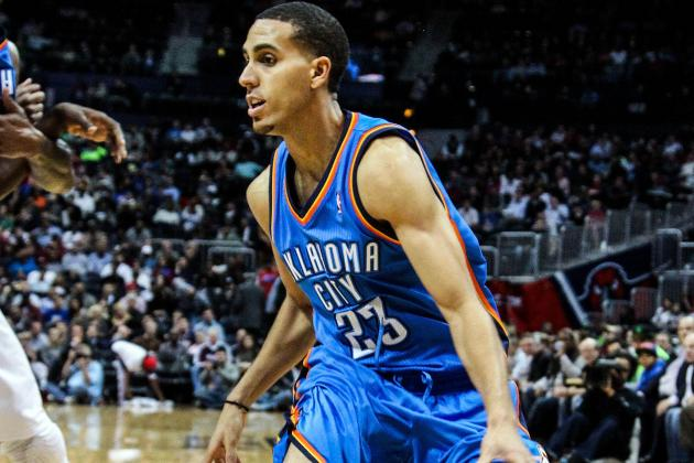 OKC'S Kevin Martin Shines in Return to Houston