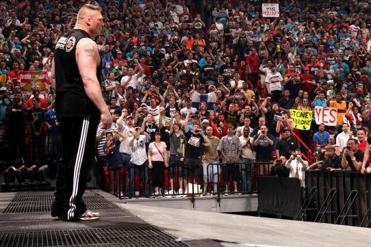 WWE's Top 10 of 2012, No. 5:  Brock Lesnar Returns to the WWE