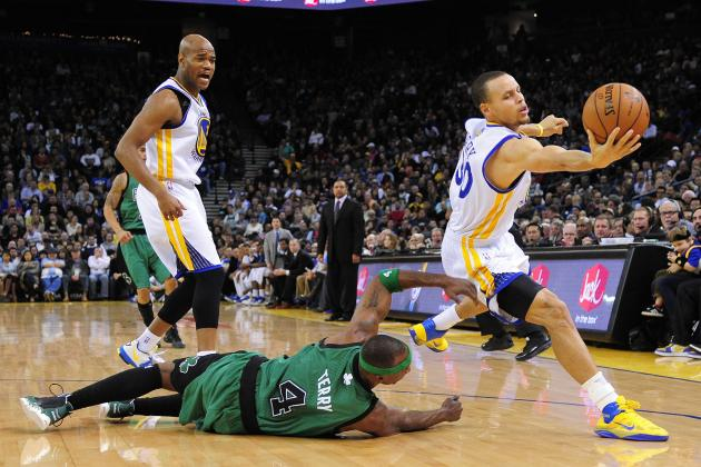 Warriors Stay on Roll, Top Short-Handed Celtics