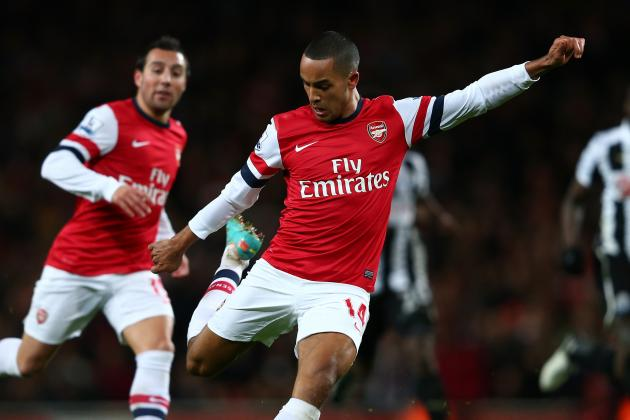 Theo Walcott: Has He Got the Attributes to Cut It as a Striker?