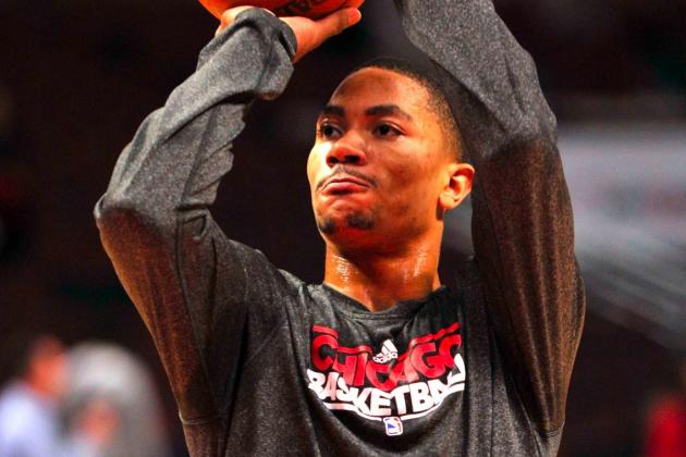 Derrick Rose Reportedly Returns to Practice as Bulls Star Continues Rehab