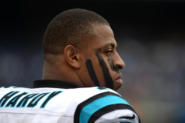 Inside the Panthers: Greg Hardy Dealing with Family Issue, Status in Doubt