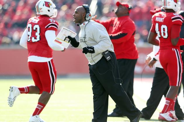 Charlie Strong Is in Demand, but Remains at Louisville