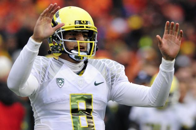 Mariota Wishes He Was Facing Te'o in Bowl