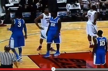 Did Referees Miss Kentucky Pulling a Switcheroo at the Free Throw Line?