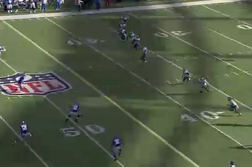 Eagles Start Game with Onside Kick
