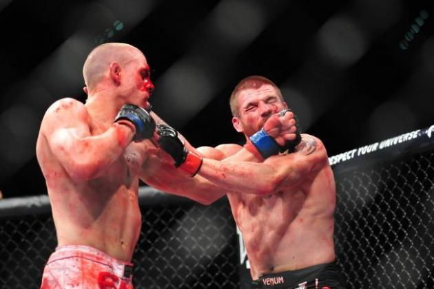 UFC 155 Results: Jim Miller's Bloody Victory over Joe Lauzon Stole Show