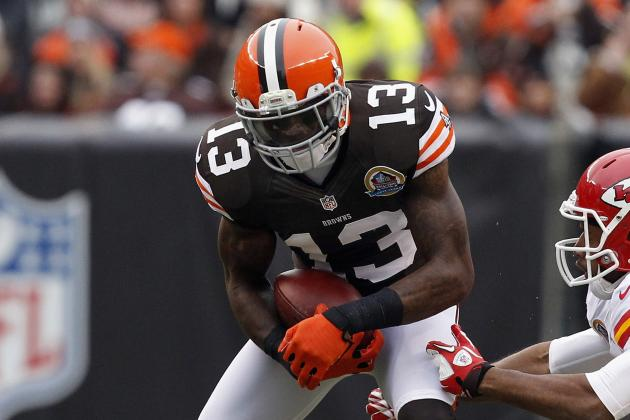 Josh Gordon Suffers Ankle Injury vs. Steelers