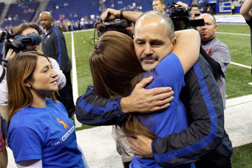 Chuck Pagano Receives Grand Welcome on His Return to the Sidelines