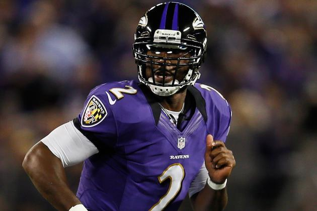 Tyrod Taylor into the Game Early as Ravens Give Joe Flacco a Quick Day
