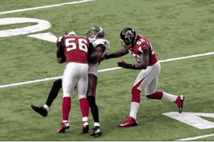 V-Jax Takes Huge Shot vs. Falcons