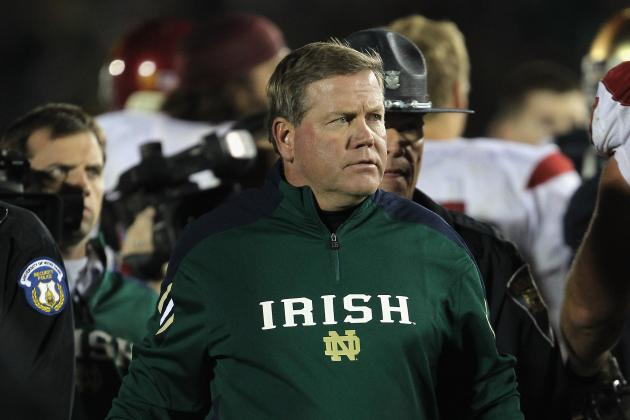 BCS Championship 2013: How a Win Would Impact Brian Kelly's Legacy at Notre Dame