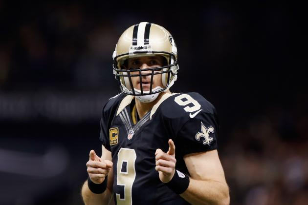 Drew Brees Sets Multiple Passing Records in Season Finale vs. Panthers