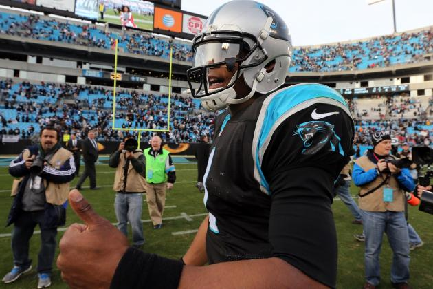 Cam Newton Breaks Peyton Manning's Passing Yards Record