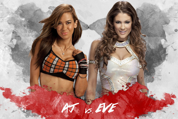 WWE: All Signs Point to AJ Lee vs. Eve Torres at WrestleMania 29