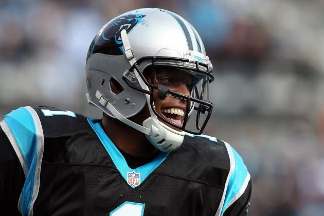 Cam Newton Breaks Peyton Manning's Record for Passing Yards in First 2 Seasons