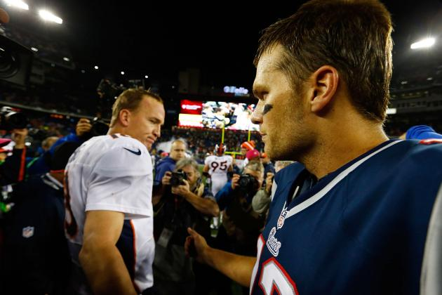NFL Playoff Predictions: Battle for the AFC Will Come Down to Broncos vs. Pats