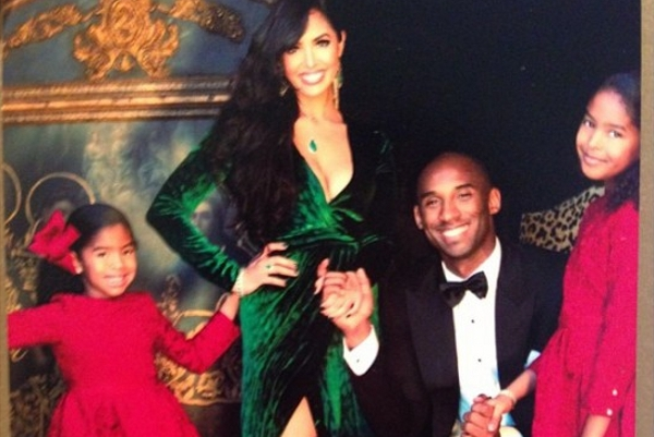 Kobe Bryant's Holiday Card Shows off Black Mamba Lifestyle