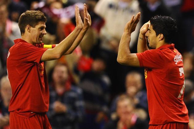 'He's a Magician': Liverpool Skipper Gerrard Hails Suarez After QPR Rout