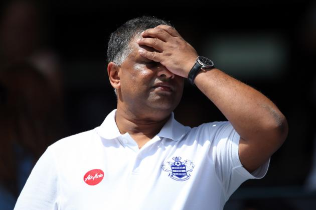 QPR Owner Tony Fernandes Condemns Team After 3-0 Defeat by Liverpool