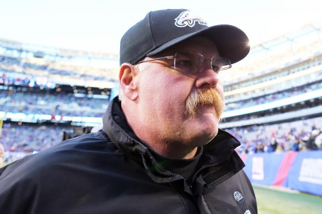 Report: Eagles Fire Coach Andy Reid