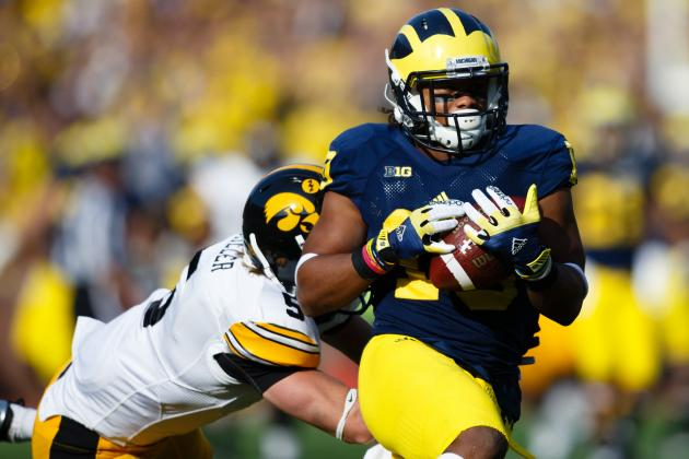 2013 Outback Bowl: Breaking Down Michigan and South Carolina WRs