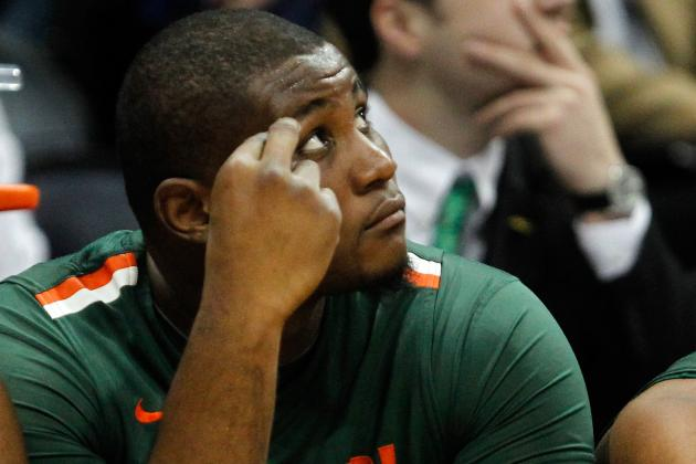Source: Miami's Reggie Johnson out for Six Weeks with Broken Thumb