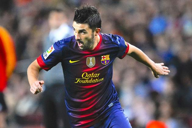 David Villa: Who's in the Hunt and Where Would Barcelona Striker Fit Best (Poll)