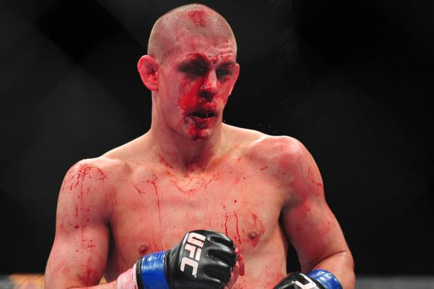 UFC 155 Results: Joe Lauzon Needed 40 Stitches After Jim Miller Bout
