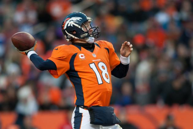 For 73rd Time, Peyton Manning Throws Three TD Passes in a Game