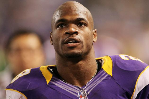 2012 NFL MVP: Adrian Peterson Is Only Option After Dragging Vikings to Playoffs