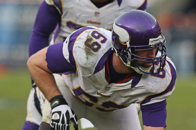 Vikings' Jared Allen Says Team Character Got Them Playoff Berth