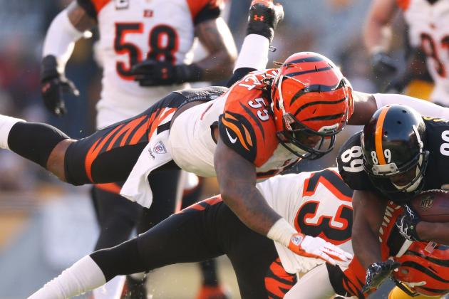 Vontaze Burfict Finishes Season as Bengals' Leading Tackler